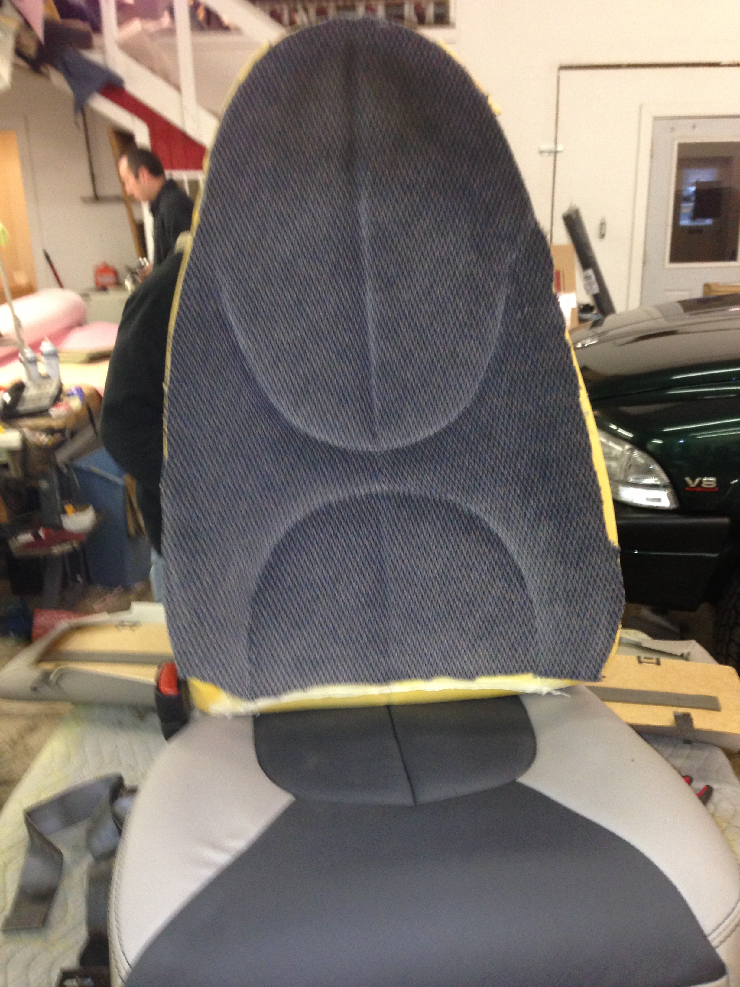 Leather seat During