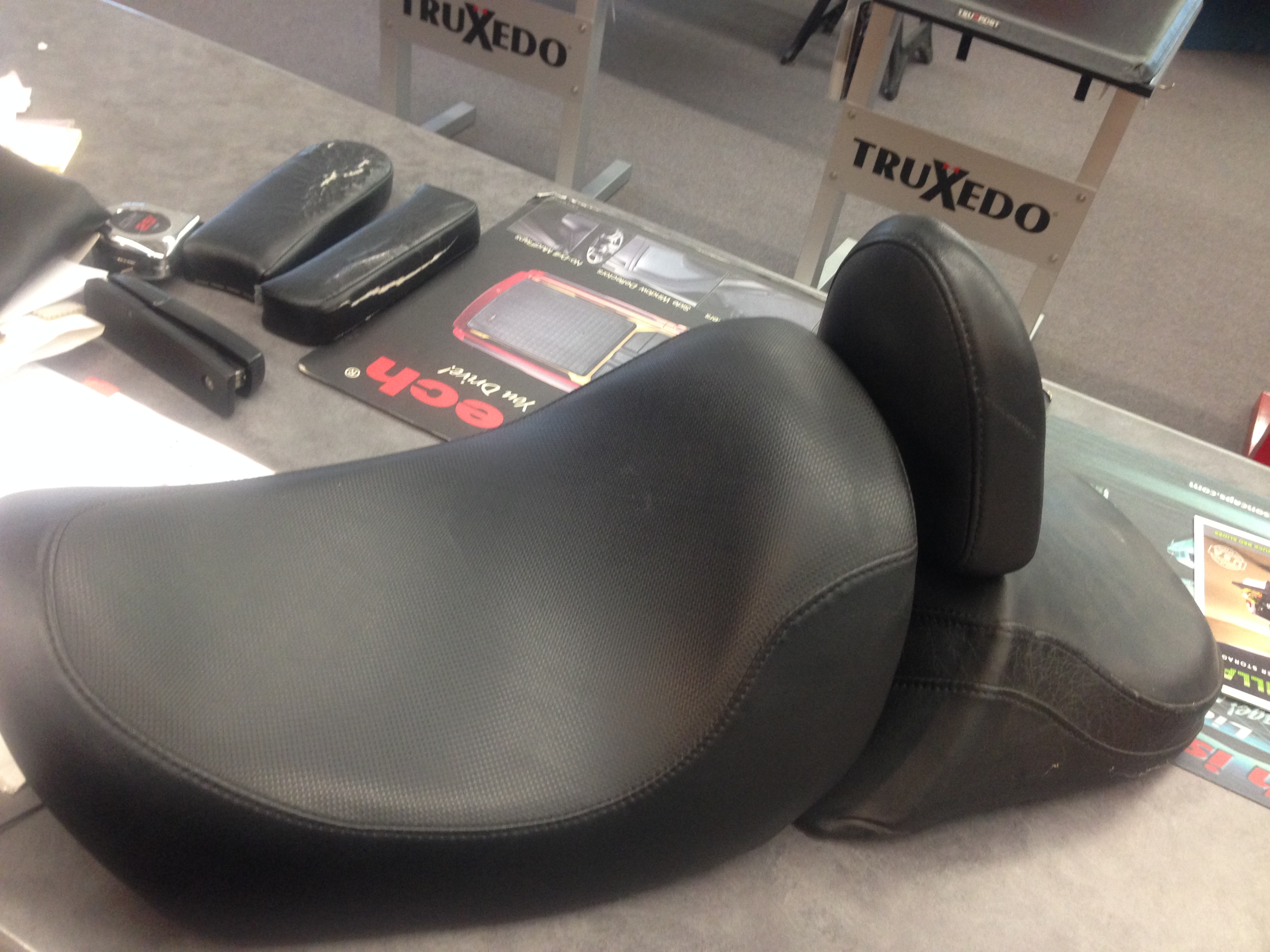 Motorcycle seat Before