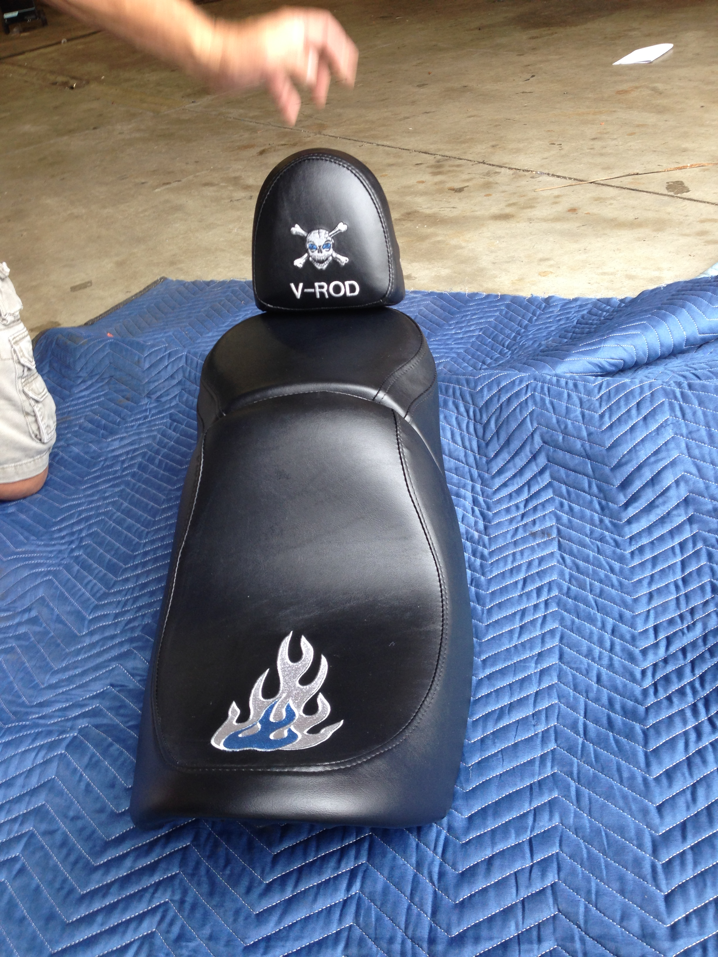 Motorcycle seat After